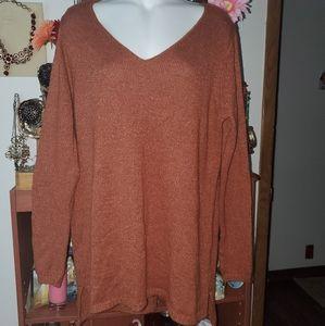 Merona BLOUSE long  sleeves  V-Neck